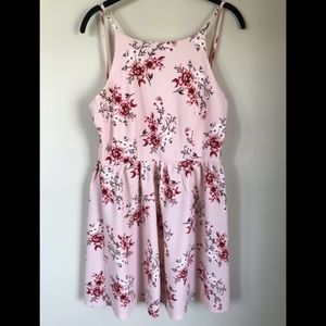 NWT Floral Spaghetti Strap Dress